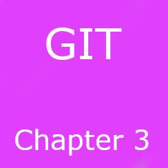 Chapter 3: GIT basics